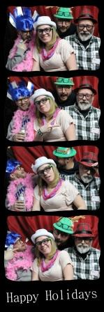 photo booth strip sample from Powerplay DJ for company party